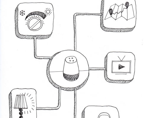 Google Home Disegno Gianluca Maestri